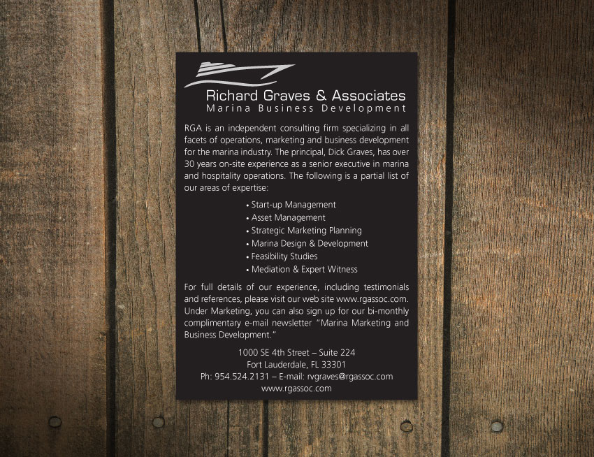 Richard Graves Magazine Ad
