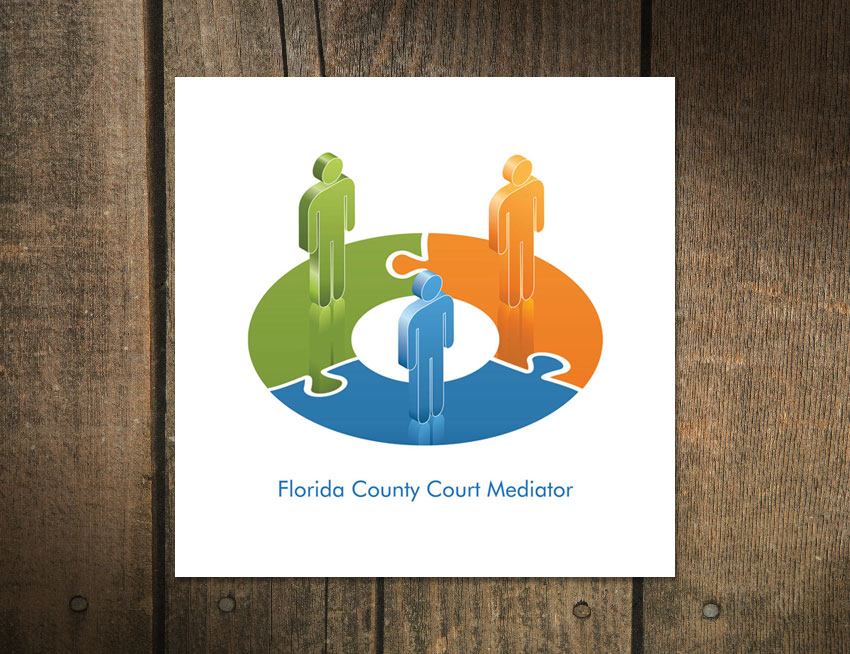 Logo Design for Florida County Court Mediator