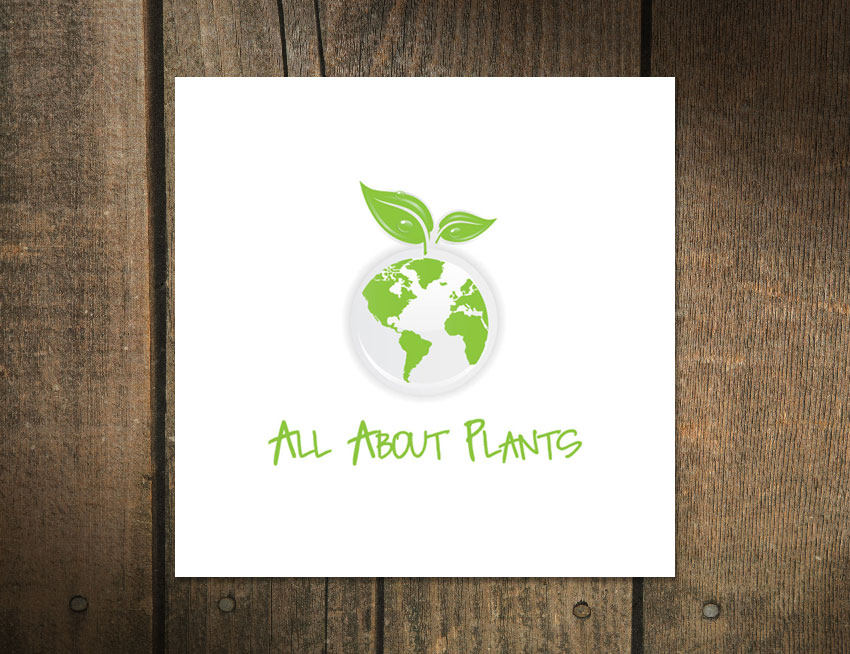Logo Design for All About Plants
