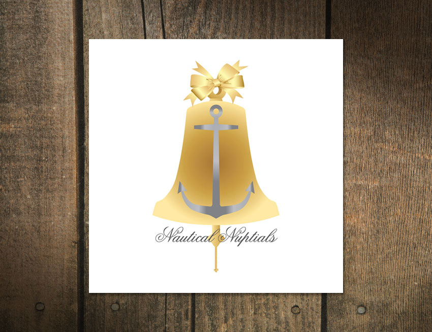 Logo Design for Nautical Nuptials