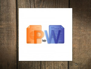 Logo Design for PowerPoint to Word