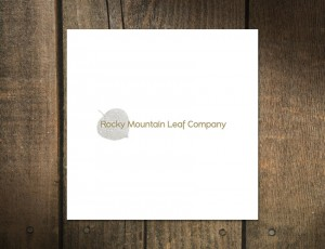 Logo Design for Rocky Mountain Leaf Company