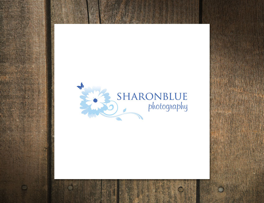 Logo Design for SharonBlue Photography