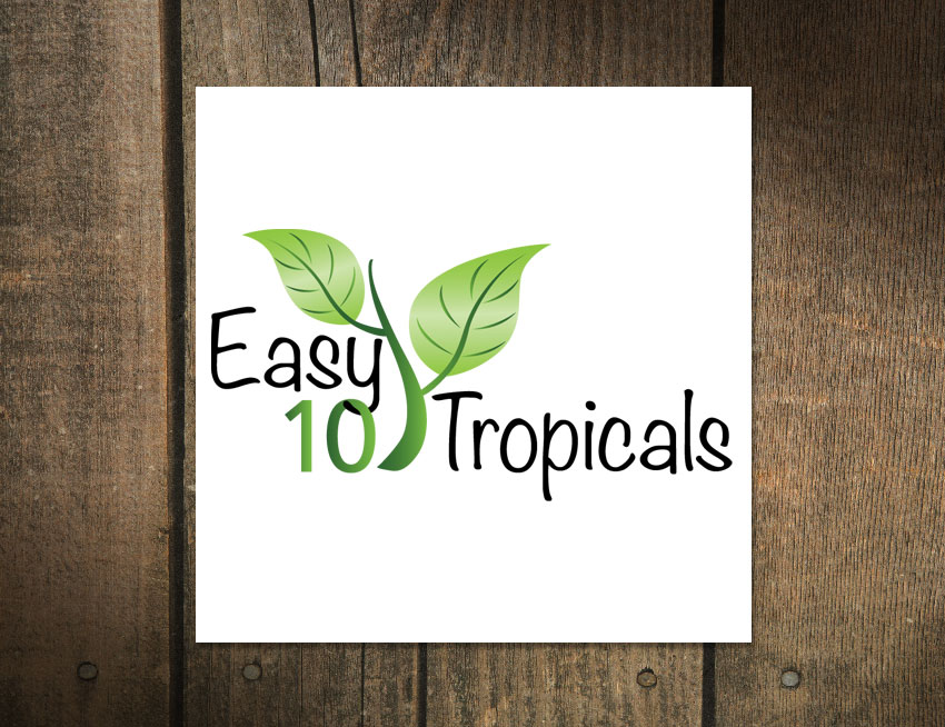Logo Design for Easy 10 Tropicals