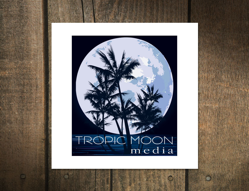 Logo Design for Tropic Moon Media