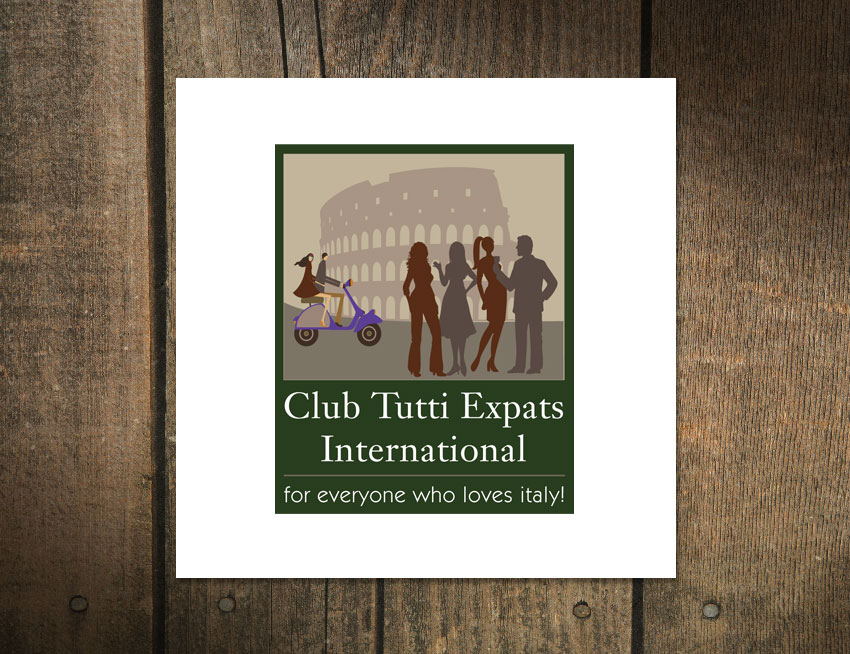 Logo Design for Club Tutti Expats International