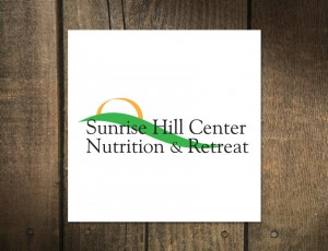Logo Design Sunrise Hill Center Nutrition and Retreat