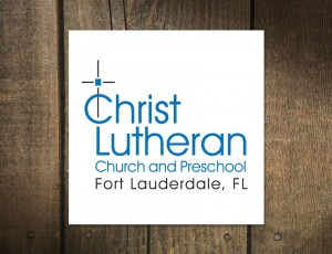 Logo Design for Christ Lutheran Church and Preschool