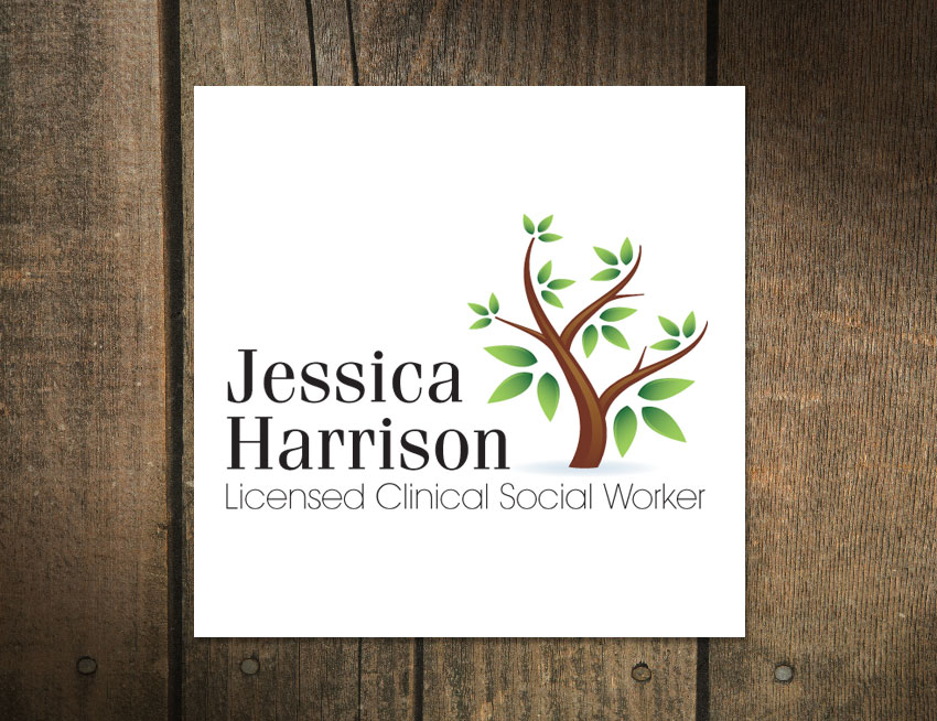Logo Design for Jessica Harrison LCSM