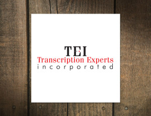 Logo Design for Transcription Experts Incorporated