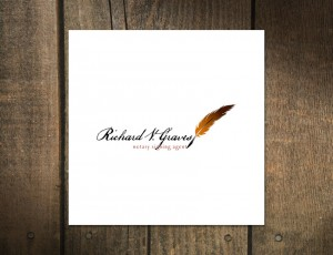 Logo Design for Richard V. Graves Notary