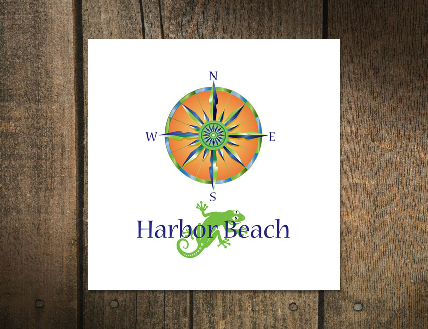 Logo Design for Harbor Beach
