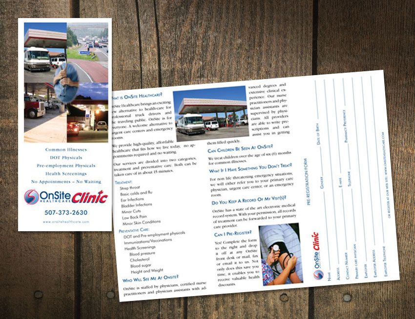 Onsite Clinic Brochure