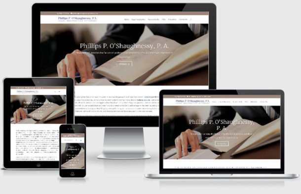 Is it responsive? With the upcoming new year, does your website need work?