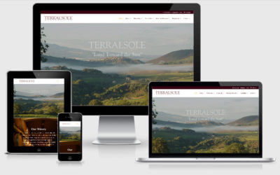 Terralsole Winery Website Redesign