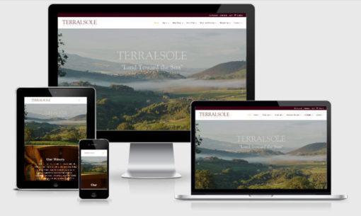 Terralsole Winery Website Redesign