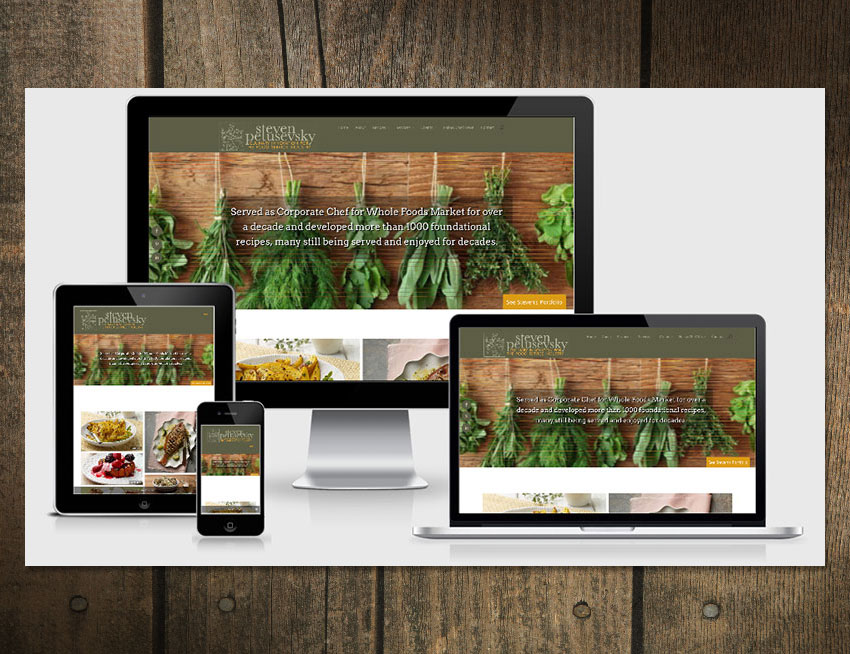 WordPress Design - Chef Steven Petusevsky