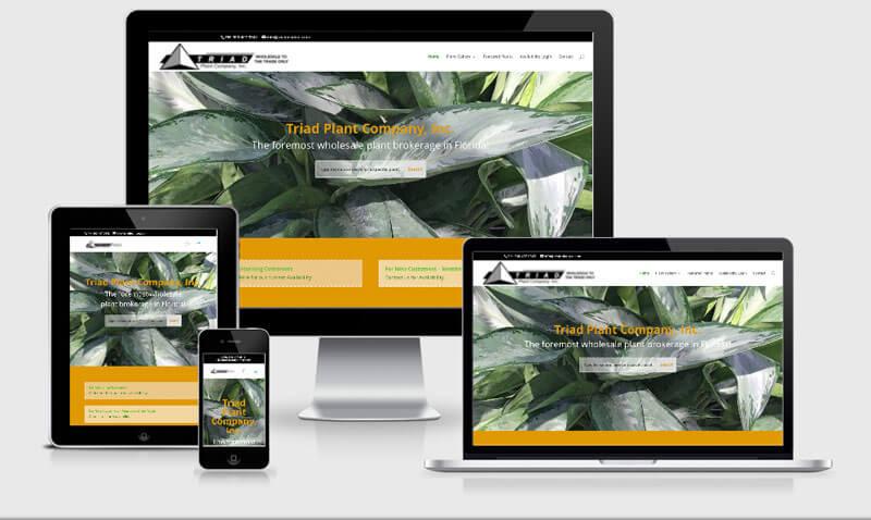 Websites for Plant Nurseries - Big Max's Studio