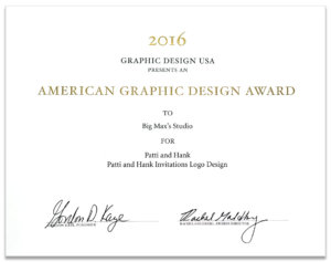 American Graphic Design Award to Big Max's Studio