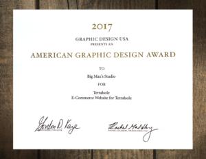 2017 AGDA Award - Big Max's Studio
