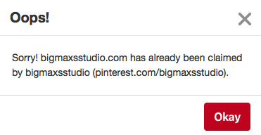 Pinterest - Big Max's Studio