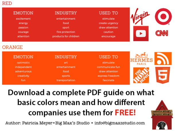 Color Guide PDF - Big Max's Studio