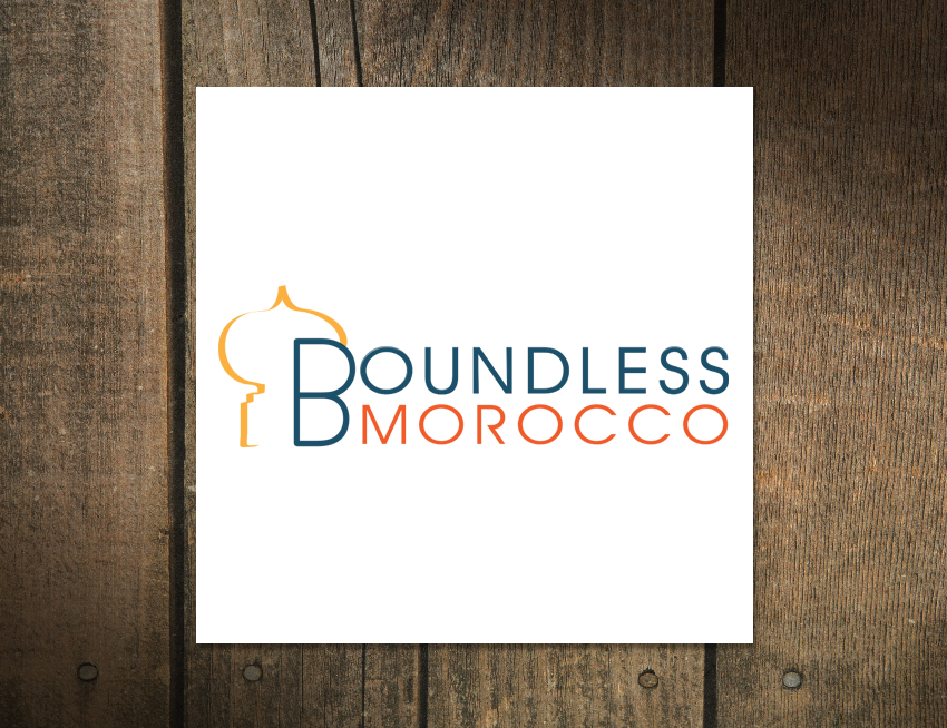 Logo design for Boundless Morocco