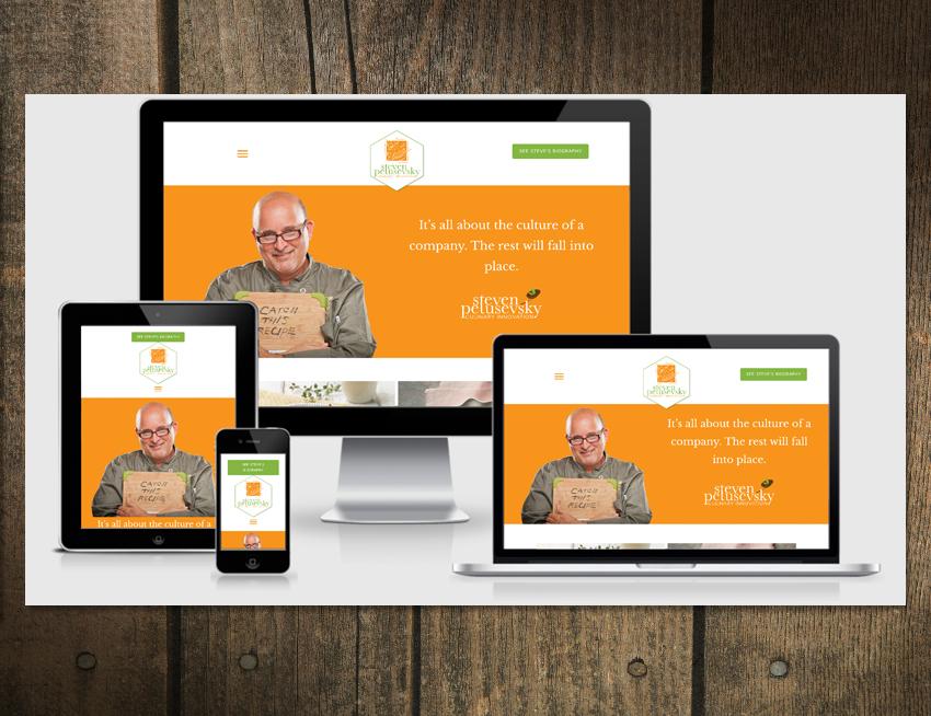 Image of Chef Steven Petusevsky Website